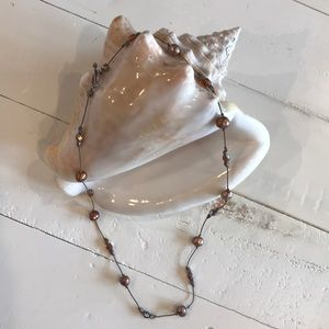 Jewelry - Beaded & Freshwater Pearl Necklace EUC!